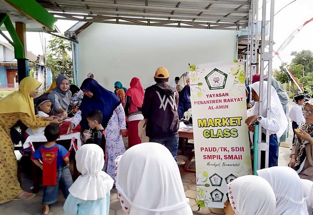 Market Class Pesantren Rakyat