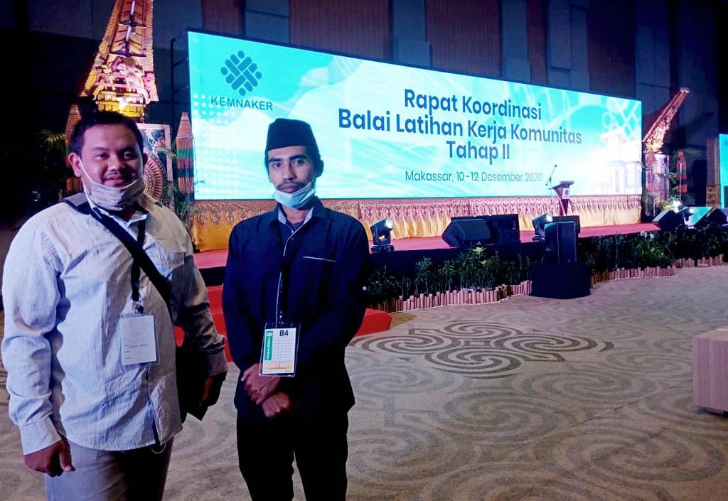 BLKK Pesantren Rakyat Ikuti Rakor BLKK Se-Indonesia Di Makassar