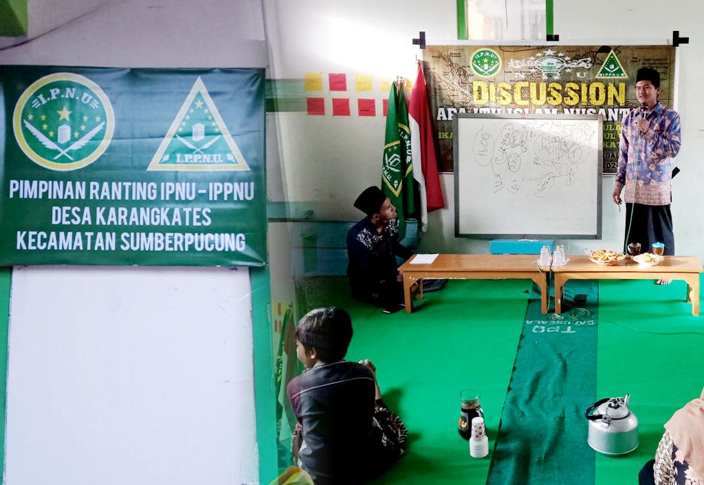 Ketua SSJM Isi Diskusi Islam Nusantara PR IPNU IPPNU Karangkates