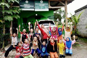 Outbound Ceria Kembalikan Semangat Santri SDII Pesantren Rakyat Al-Amin
