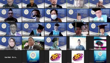 Ujian Terbuka Promosi Doktor Zainal Abidin UNAIR Surabaya